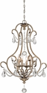 Designers Fountain 86054-ARS Gala Argent Silver Hanging Light Fixture