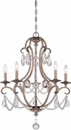 Designers Fountain 86085-ARS Gala Argent Silver Chandelier Light