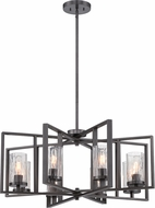 Designers Fountain 86588-CHA Elements Contemporary Charcoal Lighting Chandelier