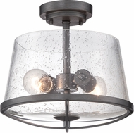 Designers Fountain 87011-WI Darby Weathered Iron Ceiling Lighting Fixture
