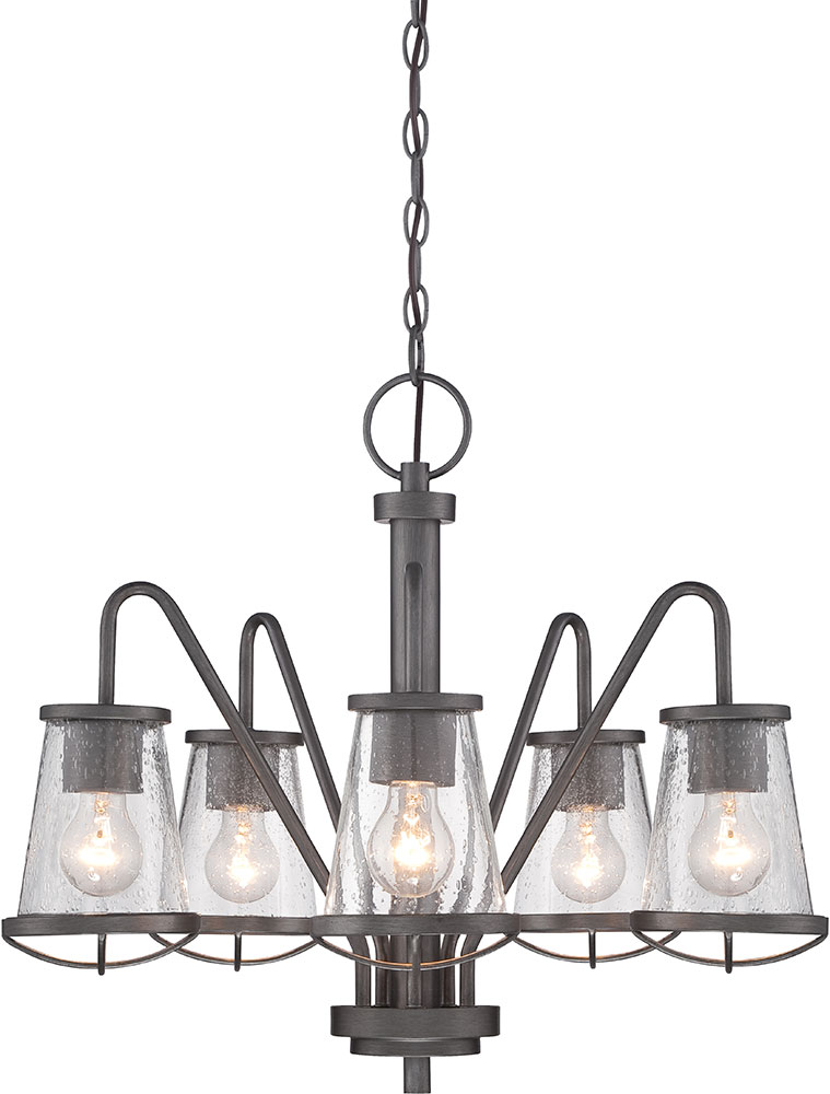 Designers Fountain 87085 Wi Darby Weathered Iron Chandelier Light Loading Zoom