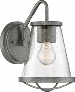 Designers Fountain 87091-WI Darby Contemporary Weathered Iron Outdoor Wall Sconce Lighting