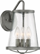 Designers Fountain 87092-WI Darby Contemporary Weathered Iron Exterior Wall Light Fixture