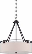 Designers Fountain 87131-OEB Gramercy Park Old English Bronze Drop Ceiling Lighting