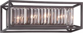 Designers Fountain 87404-VB Linares Modern Vintage Bronze Vanity Light Fixture