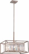 Designers Fountain 87431-AP Linares Contemporary Aged Platinum Lighting Pendant
