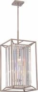 Designers Fountain 87454-AP Linares Contemporary Aged Platinum Entryway Light Fixture