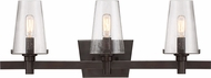 Designers Fountain 87903-VB Hyde Park Vintage Bronze 3-Light Bathroom Vanity Light