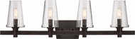 Designers Fountain 87904-VB Hyde Park Vintage Bronze 4-Light Bathroom Sconce