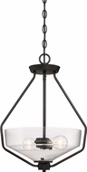 Designers Fountain 88031-ORB Printers Row Oil Rubbed Bronze Drop Ceiling Lighting
