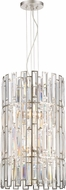 Designers Fountain 88256-SP West 65th Contemporary Satin Platinum Ceiling Pendant Light