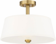 Designers Fountain 88511-BG Studio Contemporary Brushed Gold Ceiling Lighting