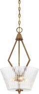 Designers Fountain 88931-OSB Montelena Old Satin Brass Pendant Light Fixture