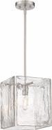 Designers Fountain 89031-SP Madison Square Modern Satin Platinum Mini Hanging Pendant Lighting