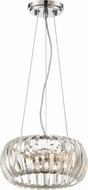 Designers Fountain 90031-CH Allure Chrome Ceiling Pendant Light