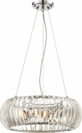 Designers Fountain 90033-CH Allure Chrome Drop Ceiling Light Fixture