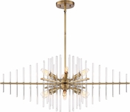Designers Fountain 90438-BAB Reeve Modern Burnished Antique Brass Hanging Lamp