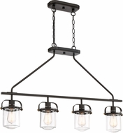 Designers Fountain 90638-ORB Jaxon Contemporary Oil Rubbed Bronze Kitchen Island Light