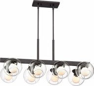 Designers Fountain 91238-SB Meridian Modern Satin Bronze Island Light Fixture