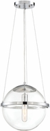 Designers Fountain 92032-CH Welton Modern Chrome Hanging Pendant Light
