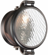 Designers Fountain 92101-SCB Eaton Modern Satin Copper Bronze Wall Lamp