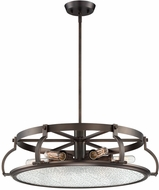 Designers Fountain 92186-SCB Eaton Modern Satin Copper Bronze Hanging Light Fixture