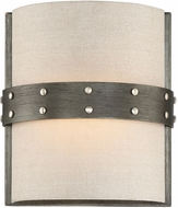 Designers Fountain 92401-WI Garrett Contemporary Weathered Iron Sconce Lighting