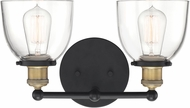 Designers Fountain 92602-VB Bryson Modern Vintage Bronze 2-Light Bathroom Lighting Sconce