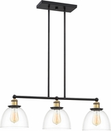 Designers Fountain 92638-VB Bryson Modern Vintage Bronze Kitchen Island Light Fixture