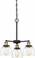 Designers Fountain 92683-VB Bryson Contemporary Vintage Bronze Mini Hanging Chandelier