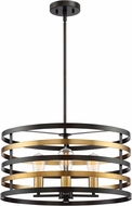 Designers Fountain 92933-AB Mya Contemporary Antique Bronze Drum Pendant Lighting