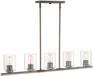 Designers Fountain 93038-SCB Liam Contemporary Satin Copper Bronze Island Lighting