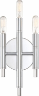 Designers Fountain 93203-CH Jesa Contemporary Chrome Lighting Sconce