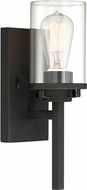Designers Fountain 93301-BK Jedrek Contemporary Black Lamp Sconce