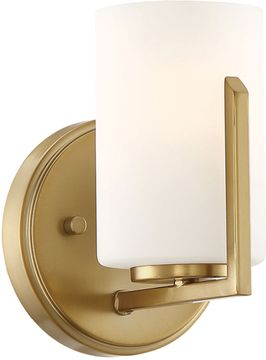 Designers Fountain 93901-BG Elara Brushed Gold Wall Light Fixture