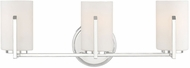 Designers Fountain 93903-PN Elara Polished Nickel 3-Light Bath Light Fixture