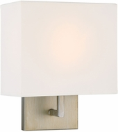 Designers Fountain 94101-SG Chloie Contemporary Sterling Gold Wall Lighting Sconce