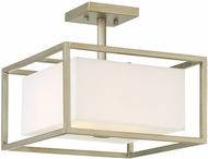 Designers Fountain 94111-SG Chloie Contemporary Sterling Gold Flush Lighting