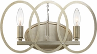 Designers Fountain 94402-SG Hutton Sterling Gold 2-Light Bathroom Vanity Lighting