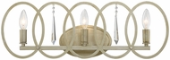 Designers Fountain 94403-SG Hutton Sterling Gold 3-Light Bathroom Vanity Light
