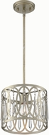 Designers Fountain 94430-SG Hutton Sterling Gold Drum Hanging Pendant Lighting