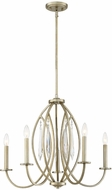 Designers Fountain 94485-SG Hutton Sterling Gold Ceiling Chandelier