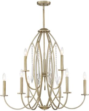 Designers Fountain 94489-SG Hutton Sterling Gold Hanging Chandelier