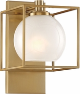 Designers Fountain 94501-BG Cowen Contemporary Brushed Gold Wall Mounted Lamp