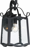 Designers Fountain 94791-BK Glenwood Traditional Black Outdoor Wall Light Sconce