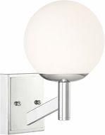Designers Fountain 95101-CH Kelvin Modern Chrome Wall Lamp