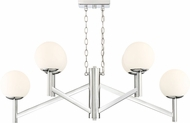 Designers Fountain 95138-CH Kelvin Contemporary Chrome Kitchen Island Light