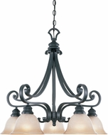 Designers Fountain 96185-NI Barcelona Natural Iron Chandelier Light