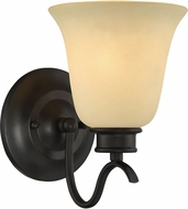 Designers Fountain 96901-ORB Montego Oil Rubbed Bronze Wall Light Sconce