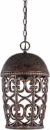 Designers Fountain 97594-BU Amherst Burnt Umber Exterior Ceiling Pendant Light